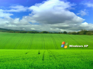 обоя компьютеры, windows, xp