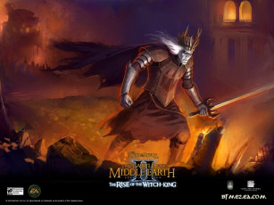 Картинка видео игры the lord of rings battle for middle earth ii rise witch king