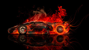 Картинка ferrari+f80+side+fire+abstract+car+2014 автомобили 3д ferrari f80 side fire abstract car 2014