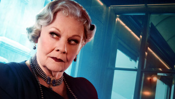 обоя кино фильмы, murder on the orient express , 2017, judi, dench, princess, dragomiroff