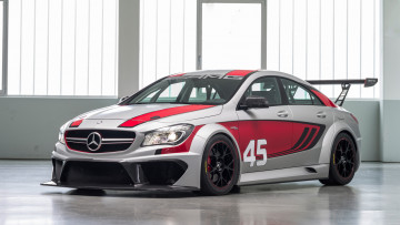 Картинка mercedes-benz+cla-45+amg+racing+series+concept+2013 автомобили mercedes-benz cla-45 amg racing series concept 2013