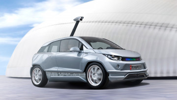обоя rinspeed budii based on bmw i3 2015, автомобили, rinspeed, 2015, i3, bmw, based, budii