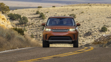 обоя land-rover discovery hse-td6 2018, автомобили, land-rover, 2018, hse-td6, discovery