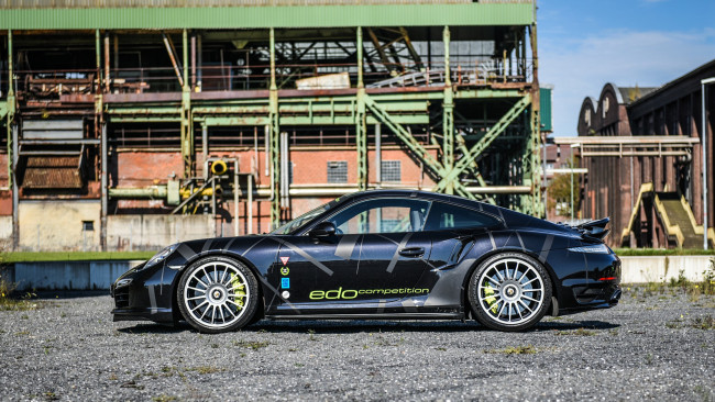 Обои картинки фото edo competition blackburn based on porsche 911 turbo-s 2016, автомобили, porsche, 911, based, 2016, turbo-s, edo, competition, blackburn