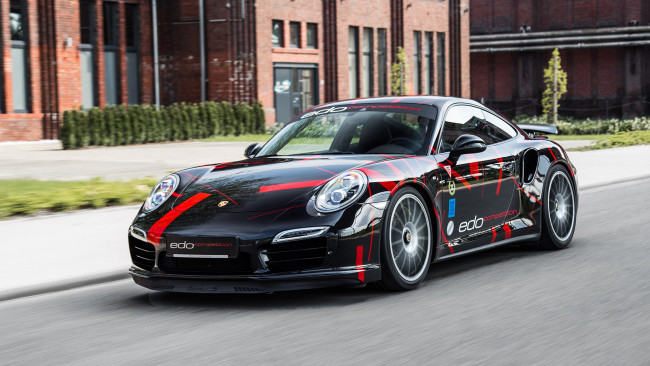 Обои картинки фото edo competition porsche 911 turbo-s 2014, автомобили, porsche, edo, competition, 2014, turbo-s, 911
