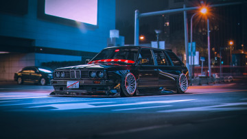 Картинка автомобили bmw e30 wagon