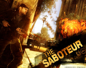 Картинка the saboteur видео игры